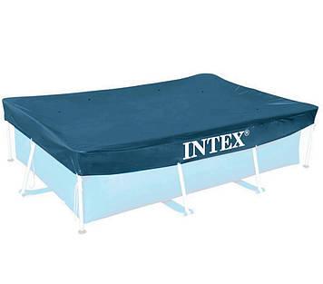 Тент - чохол для прямокутного каркасного басейну Intex Чохол для каркасного басейну Тент для басейну