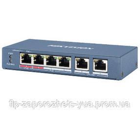 DS-3E0106HP-E 4-портовий некерований POE комутатор Hikvision