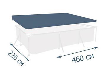 Тент - чохол для каркасного басейну Intex 450 х 220 см Чохол для каркасного басейну Тент для басейну