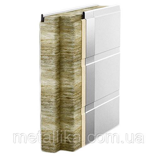 Сэндвич-панели стеновые USP, минеральная вата