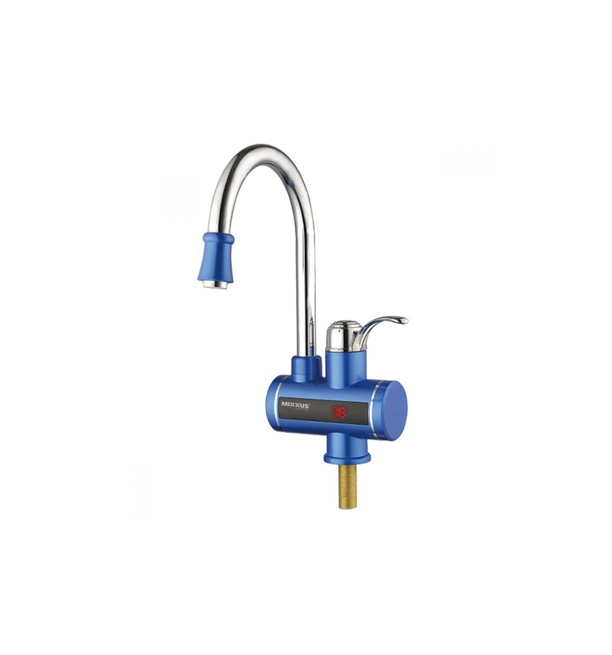 Водонагреватель 3 kW проточный с индикатором температуры .MX Electra 240-E Blue