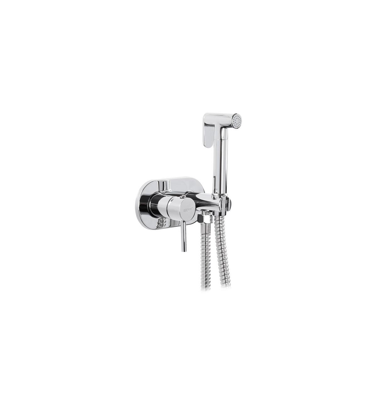 Встраиваемый смеситель для гигиенического  душа с лейкой ZX LR5398-5