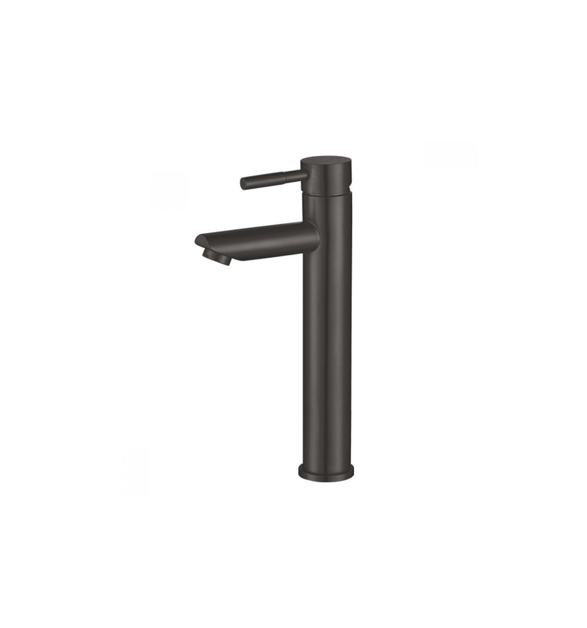 Змішувач для умивальника MX SUS-001-HIGH BLACK