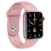 Смарт Часы Smart Watch M16 Plus 44mm Фитнес браслет Голосовой вызов,pink