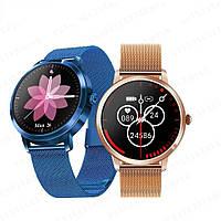 Фитнес браслет Смарт часы K20 женские с измерением давления и пульса