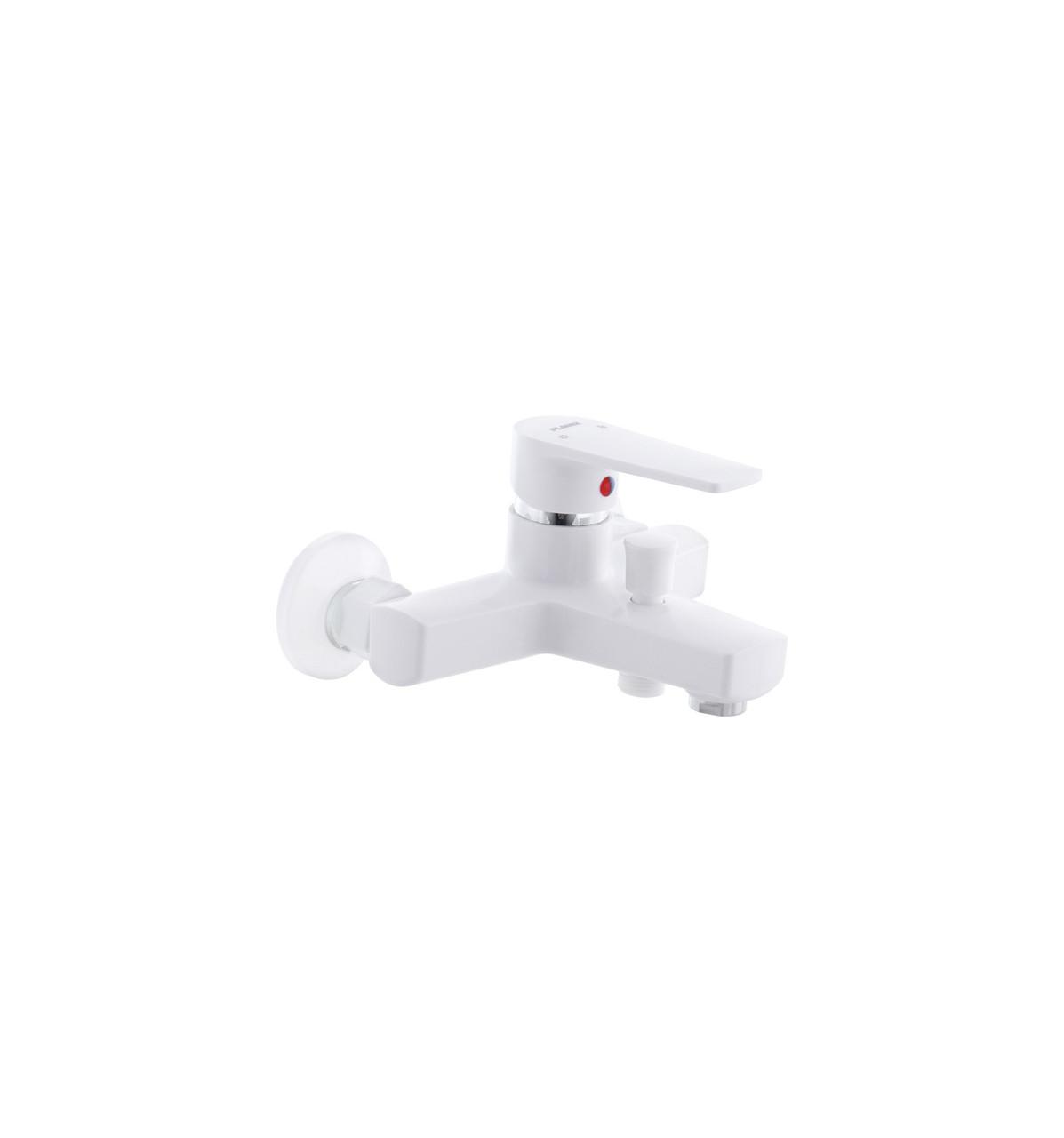 Смеситель для ванны PLAMIX Leo 009 White