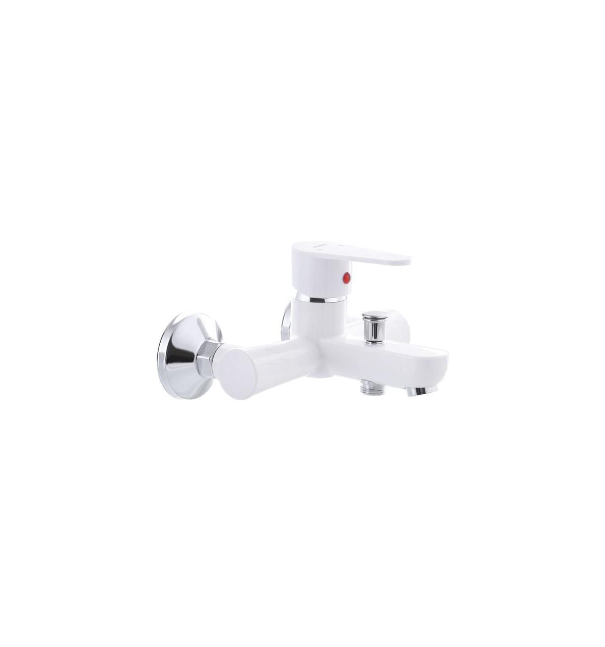Смеситель для ванны PLAMIX VEGA-009 White