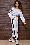 Костюм спортивний жіночий вільний (3 кольори, р. S-M UNI), фото 6