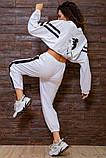 Костюм спортивний жіночий вільний (3 кольори, р. S-M UNI), фото 7