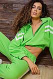 Костюм спортивний жіночий вільний (3 кольори, р. S-M UNI), фото 8