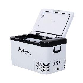 Автохолодильник компресорний Alpicool K25  ( 12 / 24 / 220V ) Фрионовый однокамерный 25литров