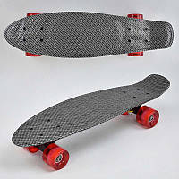 Скейт Пенни борд S 00171 (6)  Best Board, колёса PU, d=6см, светятся