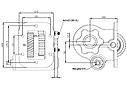 Коробка отбора мощности (КОМ) 6S425 для IVECO, фото 2