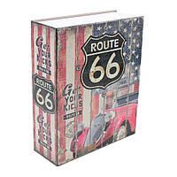 Книга-сейф (24см) Траса 66