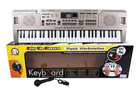Детский синтезатор MQ-816 USB с микрофоном