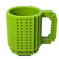Кружка Лего конструктор (зелена)