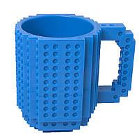 Кружка Лего конструктор (синя)