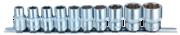 Набор торцевых 6-гр головок (8-22) на планшетке (15 предм)