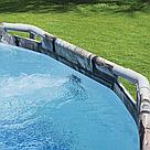 Каркасний басейн 56719 з гідромасажем і підсвічуванням, 610 х 366 х 122 см (сходи), фото 6