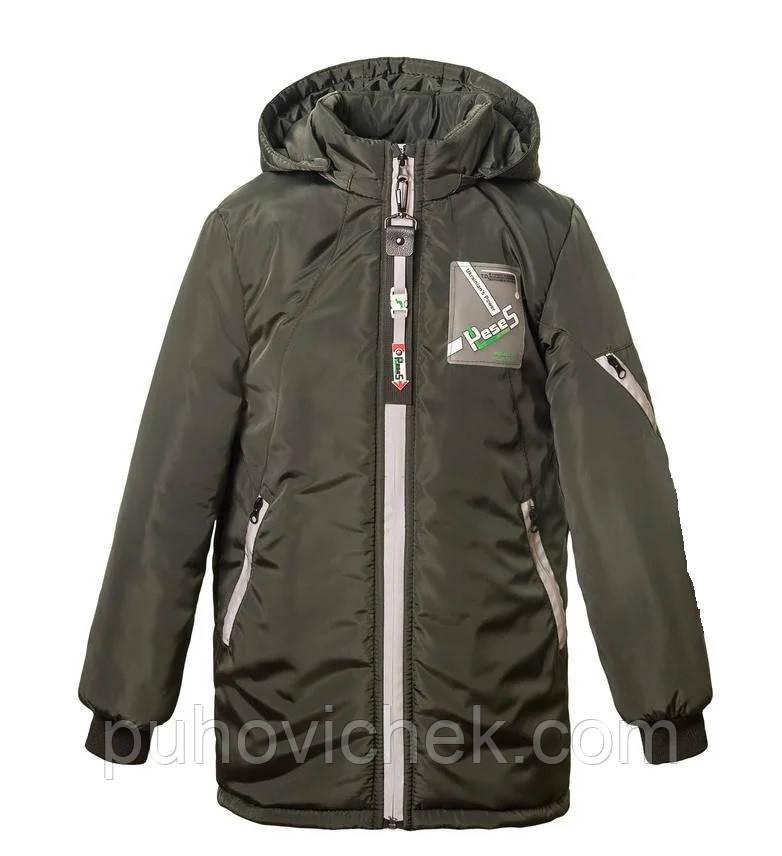 Дитячі куртки для хлопчиків демісезонні розмір 116-164