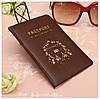 Изысканная обложка на паспорт с тиснением, фото 2