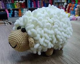 Игрушка овечка крючком. Пошаговый МК.