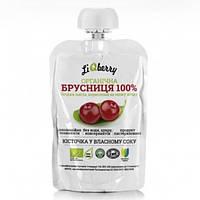 Брусничная паста LiQberry диетическая добавка дойпак 100 г
