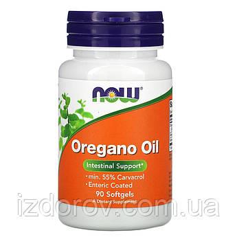 Now Foods, Масло орегано, Oregano Oil, 90 капсул