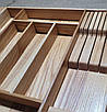 Лоток для столовых приборов PM800-890.450 ясень, фото 2