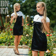 женские прямые платье