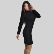 короткое облегающее женское платье