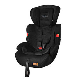 Детское автокресло TILLY Comfort T-11901/1 Black (1/2/3 /1/ 9-36 кг) Черный