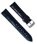 Ремінець для годинника з шкіри високої якості розмір 20 мм, фото 3
