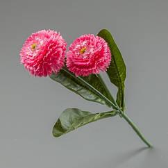 Гілка Маргаритки 25 см яскраво рожеві