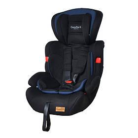 Детское автокресло TILLY Comfort T-11901/1 Blue (1/2/3 /1/ 9-36 кг) Черно-голубой