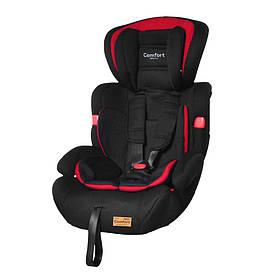 Детское автокресло TILLY Comfort T-11901/1 Red (1/2/3 /1/ 9-36 кг) Черно-красный