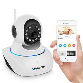 Wifi камера відеоспостереження Vstarcam C25, 1 Мегапіксель, PTZ, HD 720P, поворотна (100260)