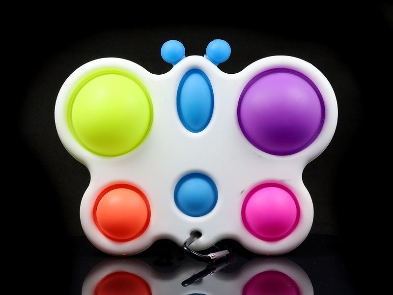 Игрушка антистресс Бабочка Simple Dimple UKR-307 400шт 9015