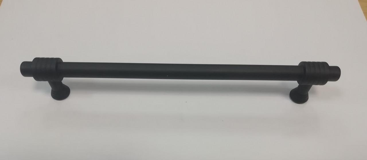 Ручка мебельная релинг GIFF 8/163/160 черный матовый