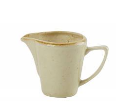 Молочник фарфор для молока, вершків сливочник посуд для кафе бару Porland Seasons Yellow 150 мл