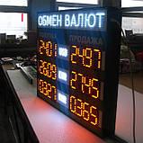 Табло обмін валют 760х680 мм, фото 5