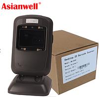 Стаціонарний 2D сканер штрих-кодів, QR-кодів Asianwell AW-2040 NLS-FR40 FR4060, фото 1