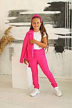 Стильний костюм трійка (піджак, брюки, шорти) 122-164р від виробника