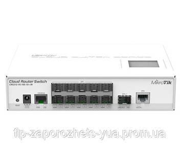 CRS212-1G-10S-1S+IN 10-портовий керований Cloud комутатор, фото 2