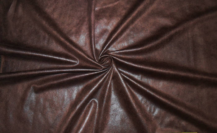 Искусственная замша коричневая, фото 2