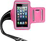 Розовый Спортивный чехол на руку  для iPhone 5/5S/5C