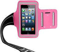 Розовый Спортивный чехол на руку  для iPhone 5/5S/5C, фото 1