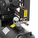 Компресор 100 л, 5 HP, 4 кВт, 380 В, 8 атм, 600 л/хв. 3 циліндра INTERTOOL PT-0036, фото 5