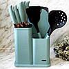 Комплект кухонних приналежностей з ножами BRIGHT CHEF кухонний набір 10 предметів для кухні