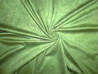 Искусственная замша св.зеленая